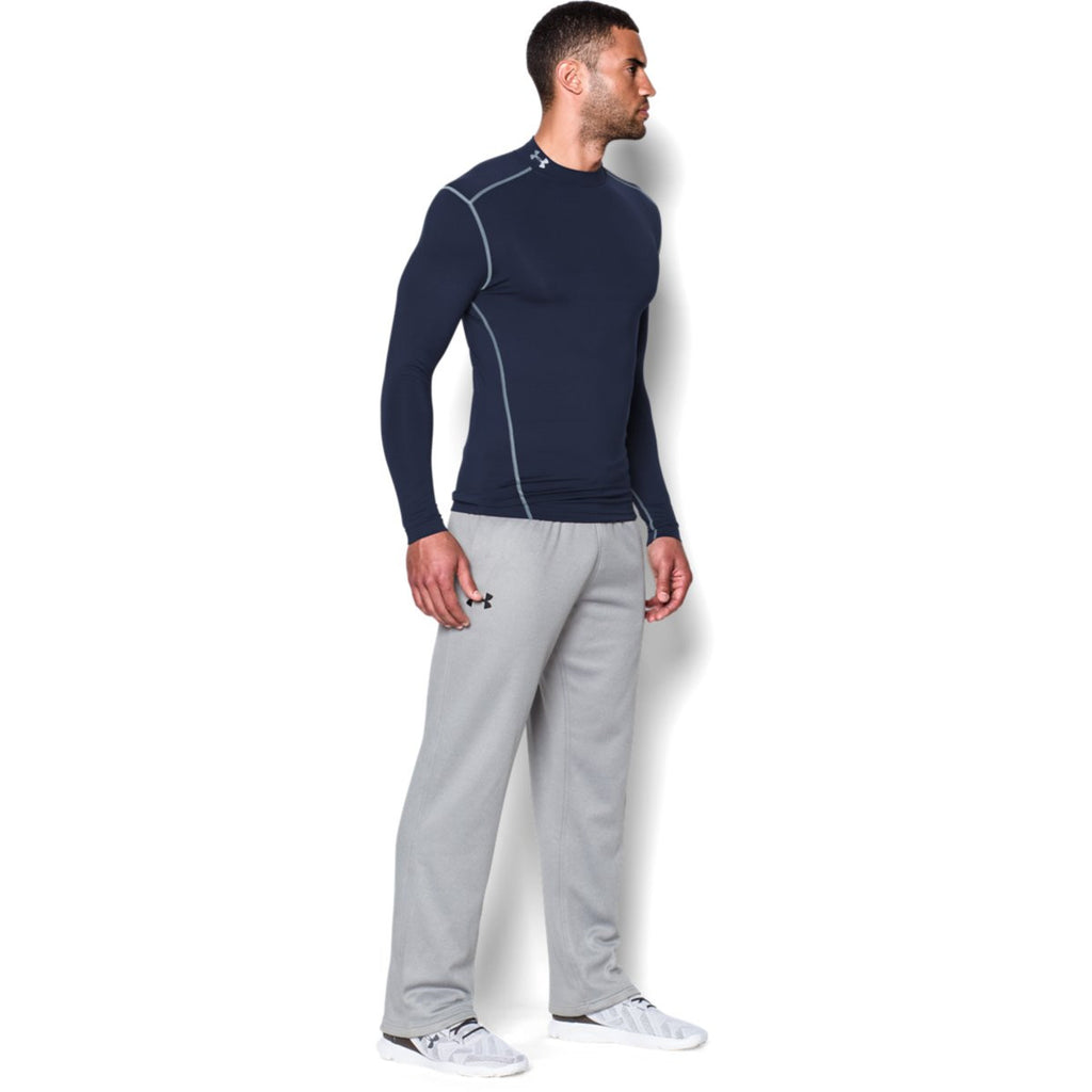 Under Armour Men's Navy ColdGear Armour Compression Mock
