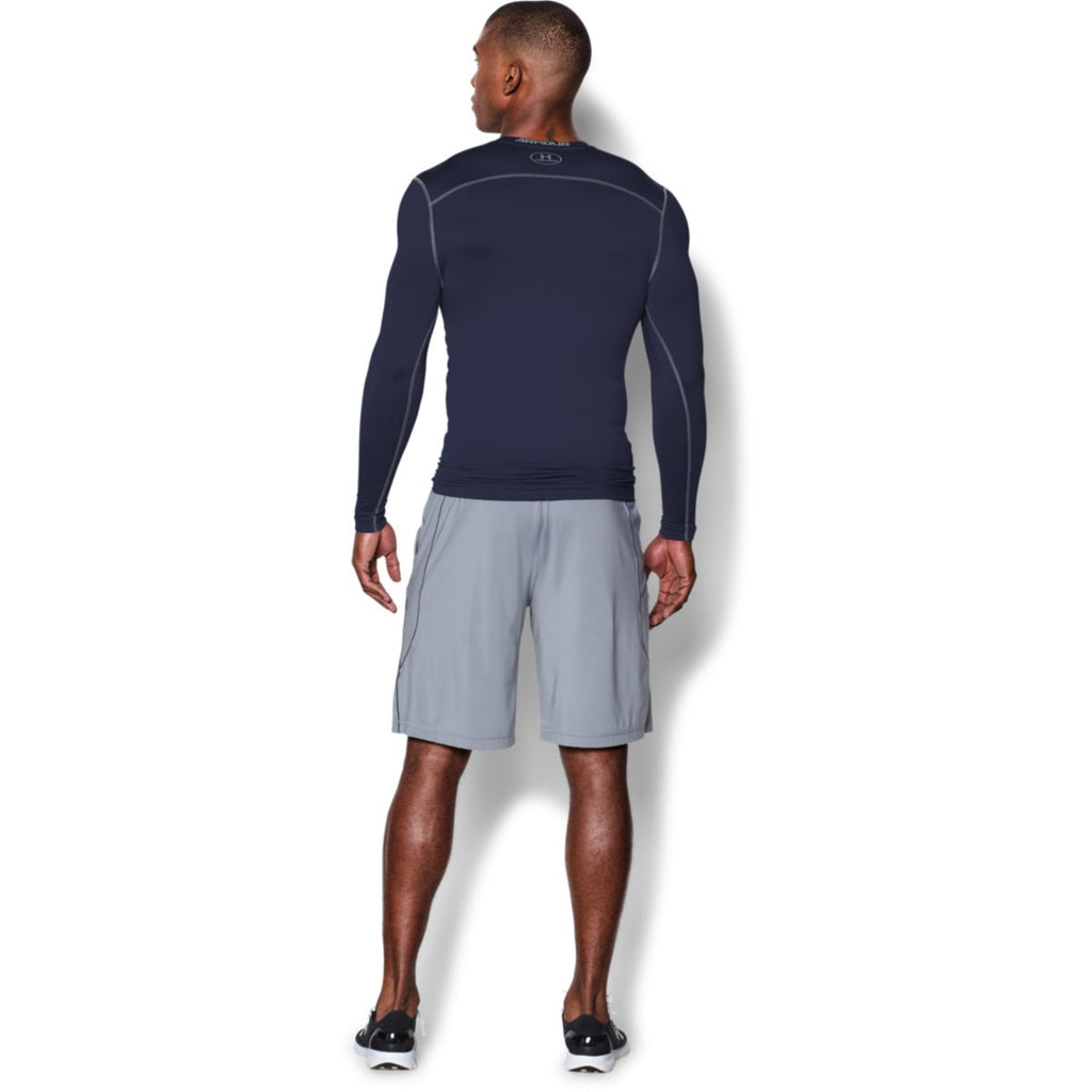 Under Armour Men's Navy ColdGear Armour Compression Crew
