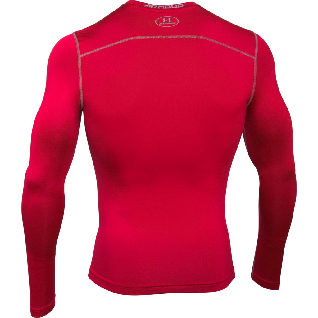 Under Armour Men's Red ColdGear Armour Compression Crew