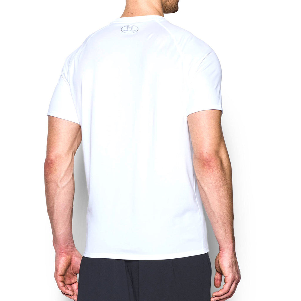 Under Armour Men's White S/S Locker Tee