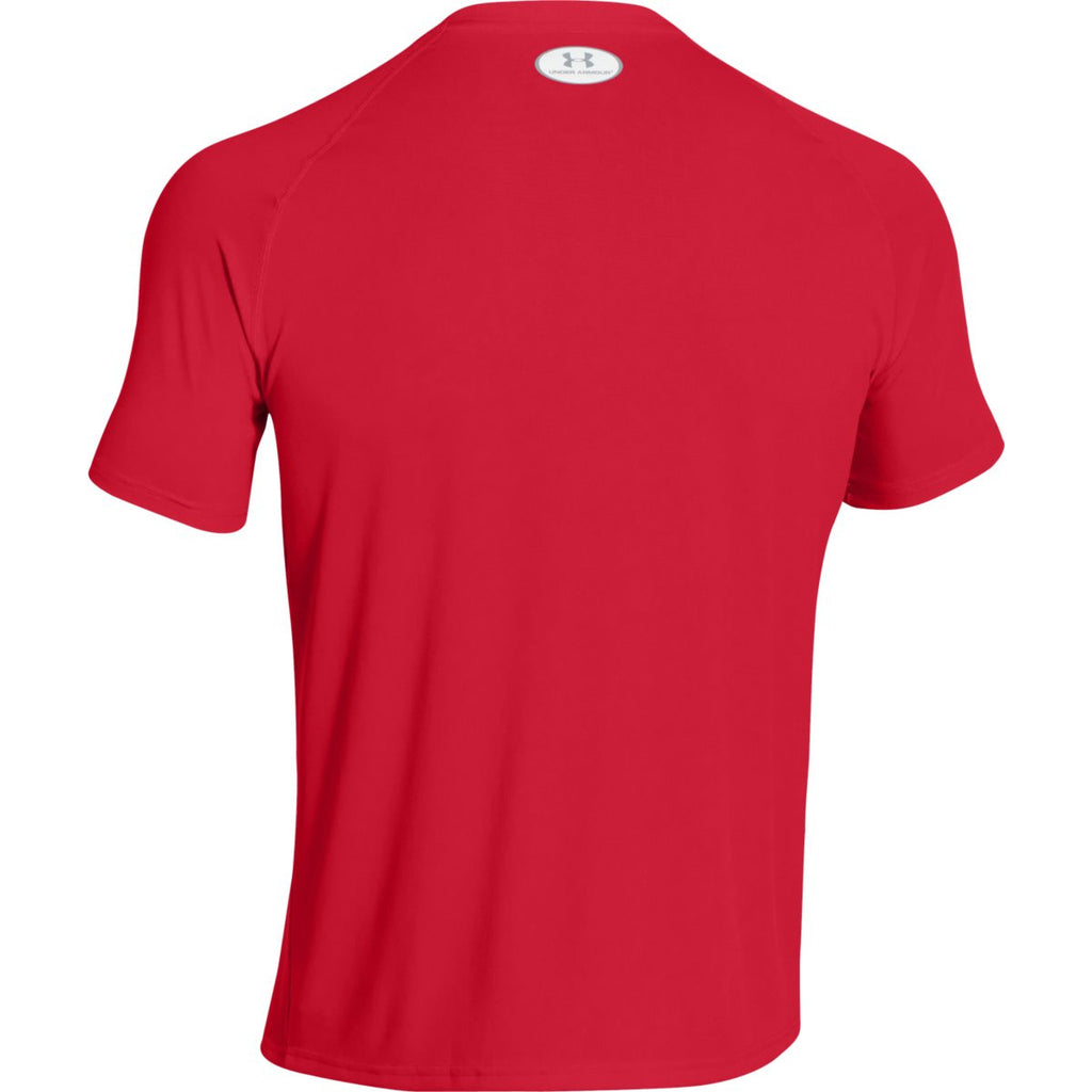 Under Armour Men's Red S/S Locker Tee