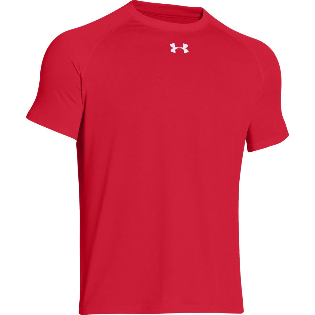82bf652a Under Armour Men's Red S/S Locker Tee. ADD YOUR LOGO
