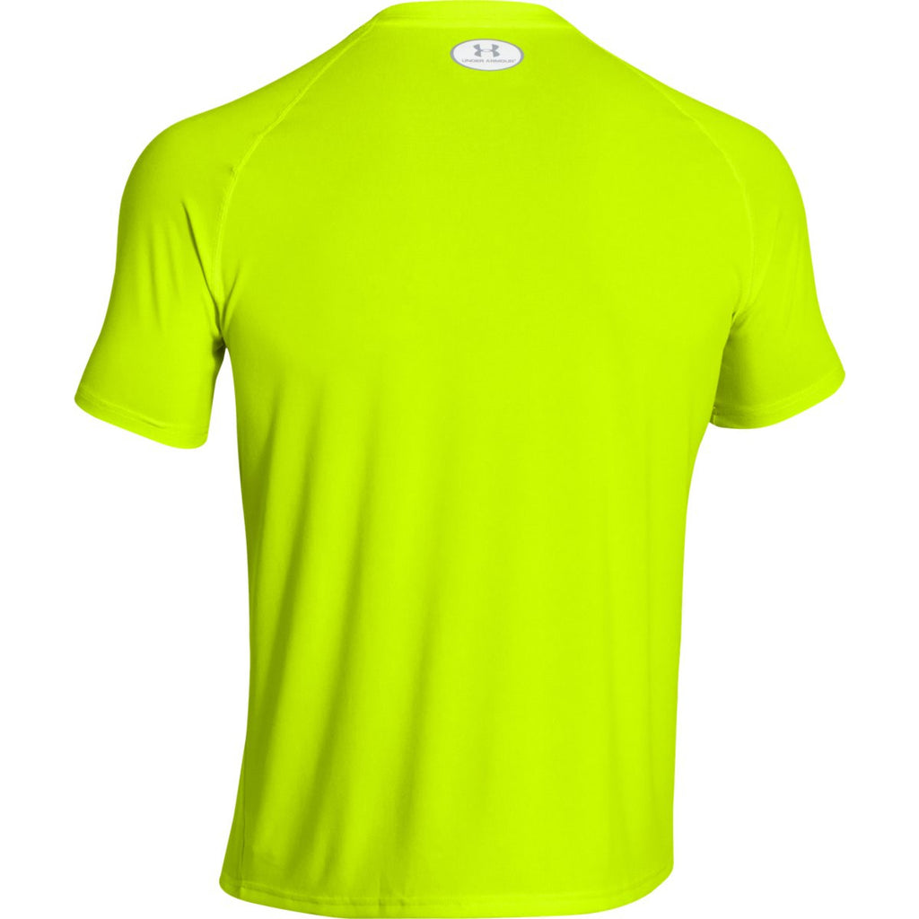 Under Armour Men's High-Vis Yellow S/S Locker Tee