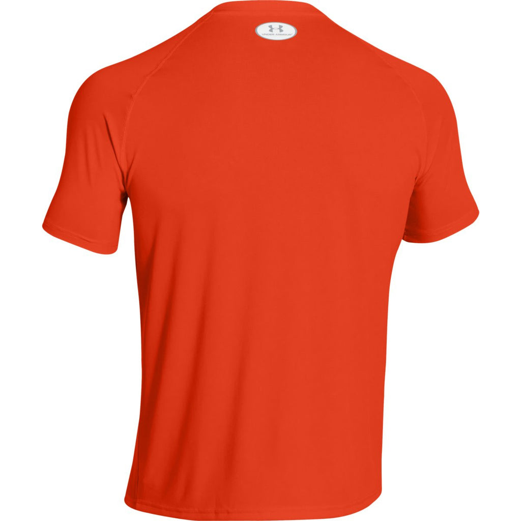 Under Armour Men's Dark Orange S/S Locker Tee
