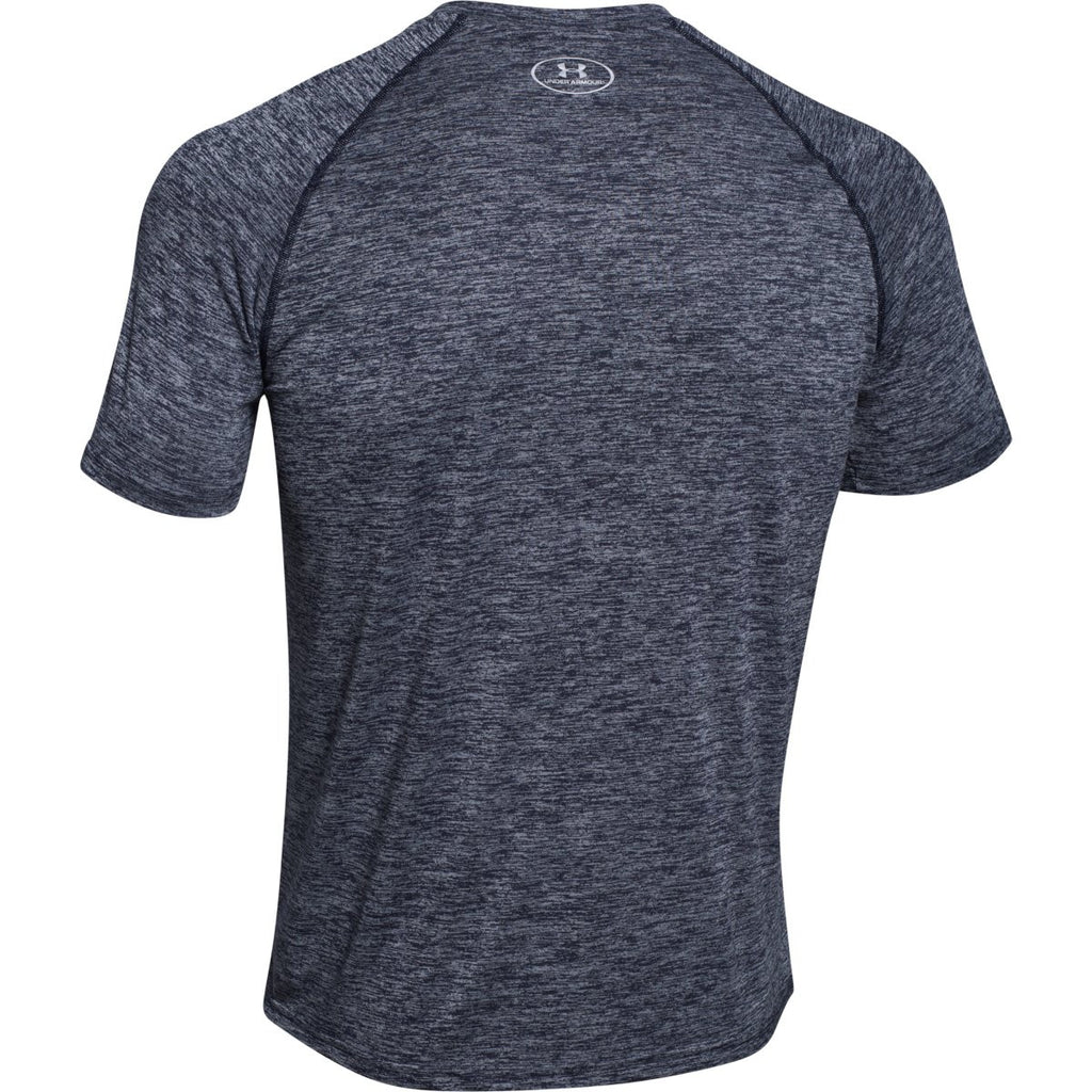 Under Armour Men's Navy Twisted Tech S/S Locker Tee