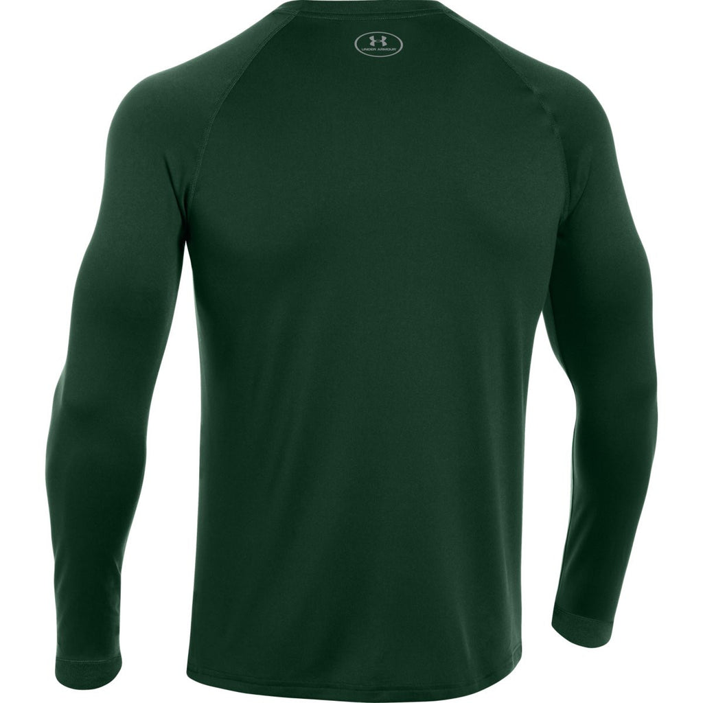 Under Armour Men's Forest Green L/S Locker Tee