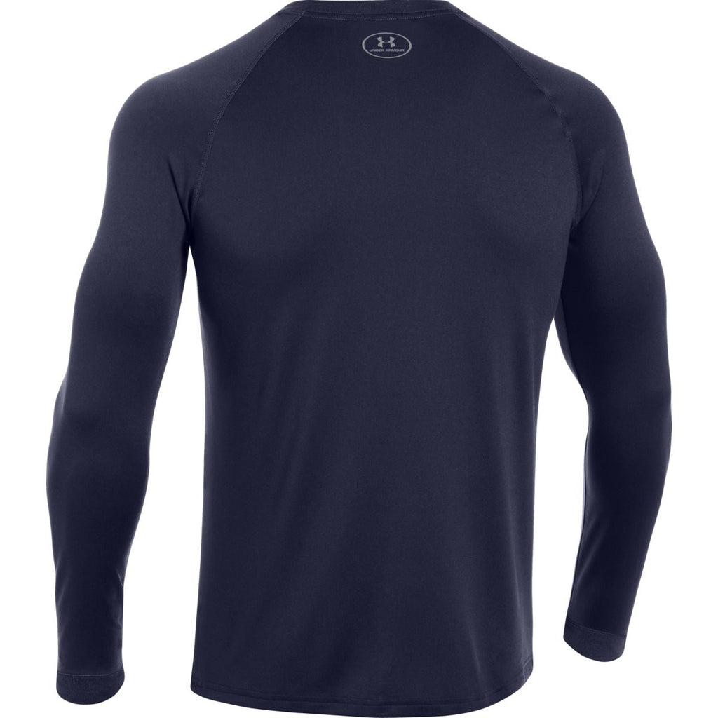 Under Armour Men's Midnight Navy L/S Locker Tee