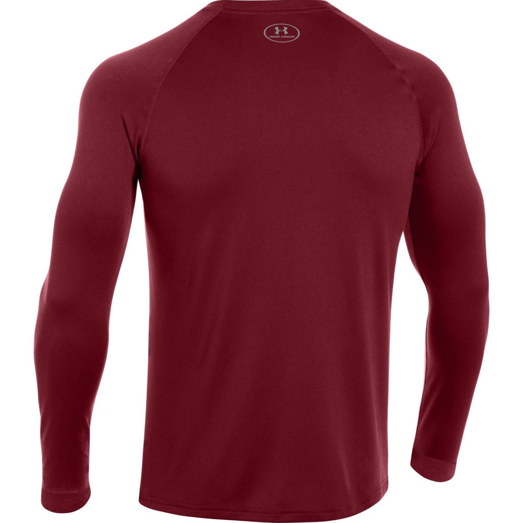 Under Armour Men's Cardinal L/S Locker Tee