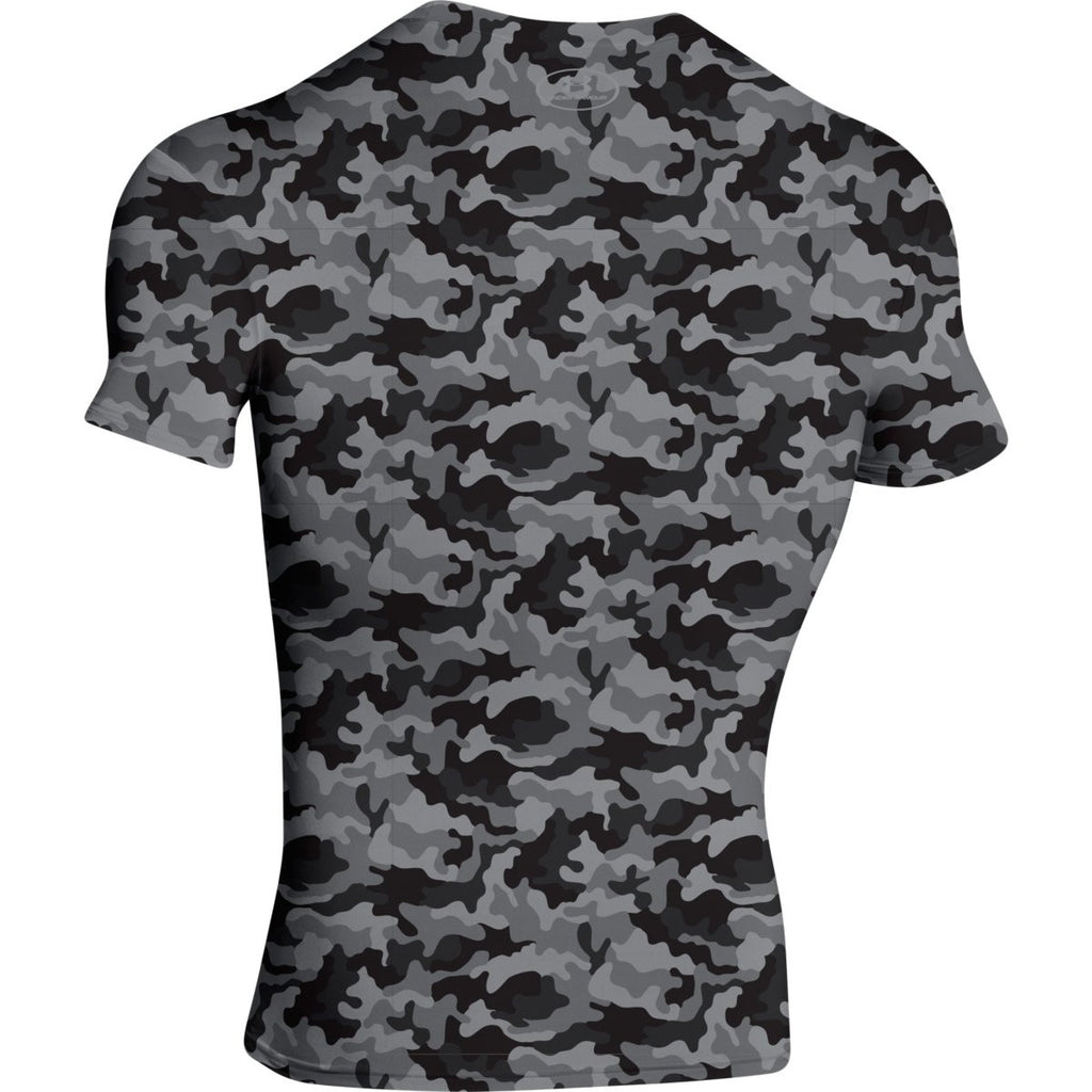 Under Armour Men's Black Camo S/S Locker Tee