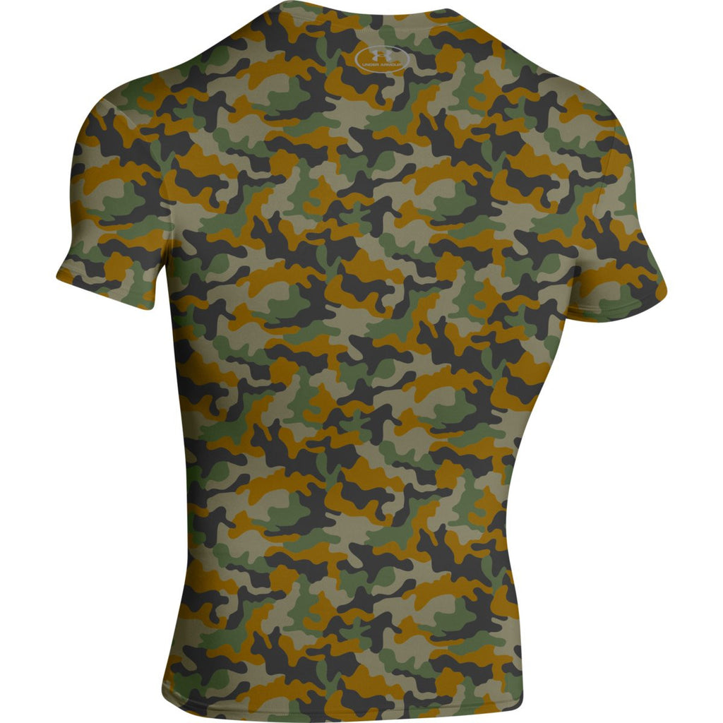 Under Armour Men's Brown Camo S/S Locker Tee