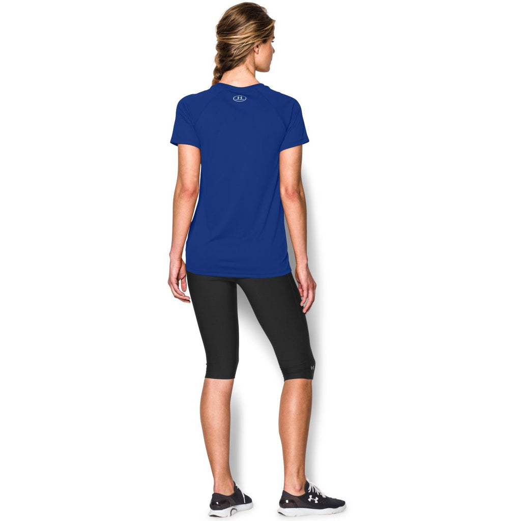 Under Armour Women's Royal S/S Locker Tee