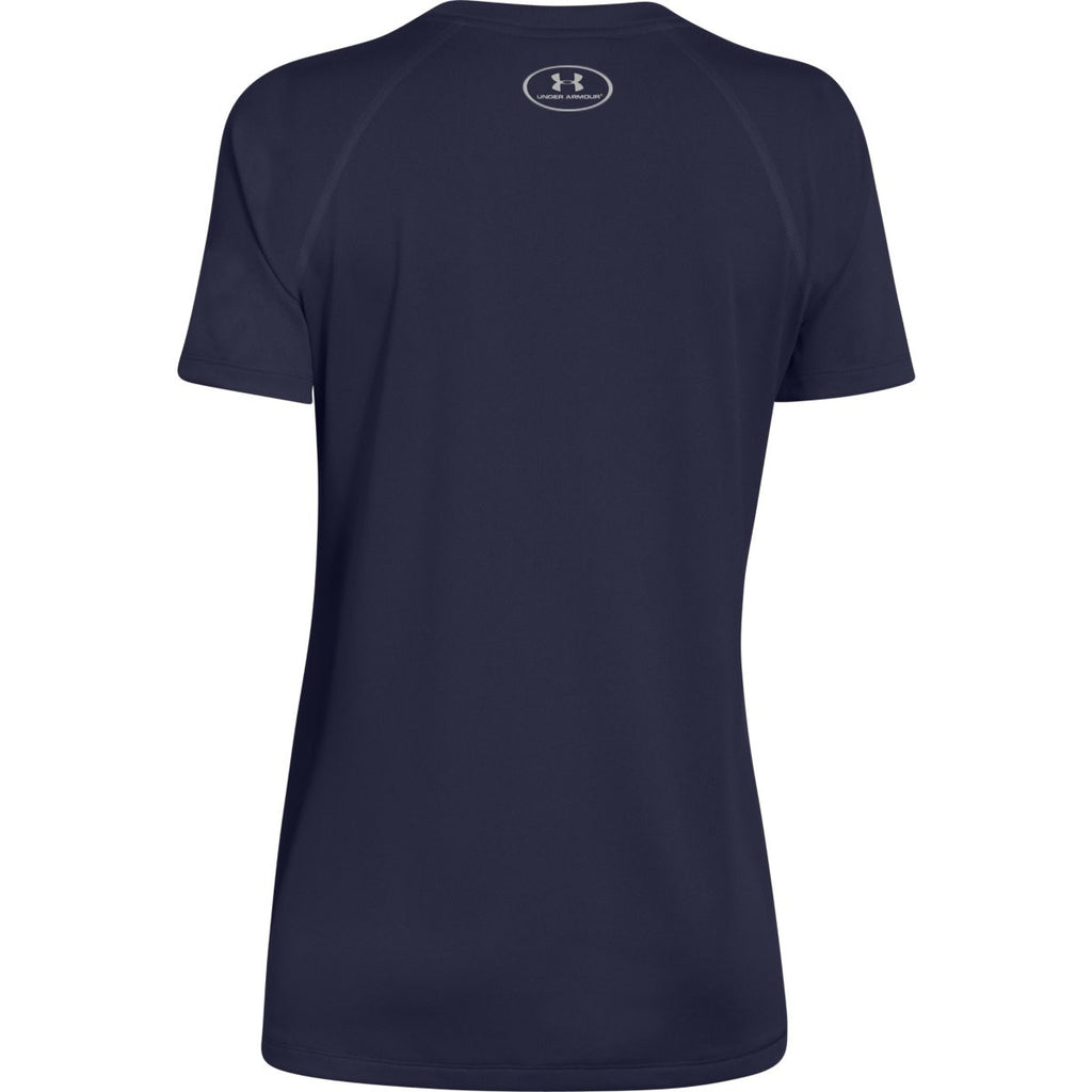 Under Armour Women's Midnight Navy S/S Locker Tee