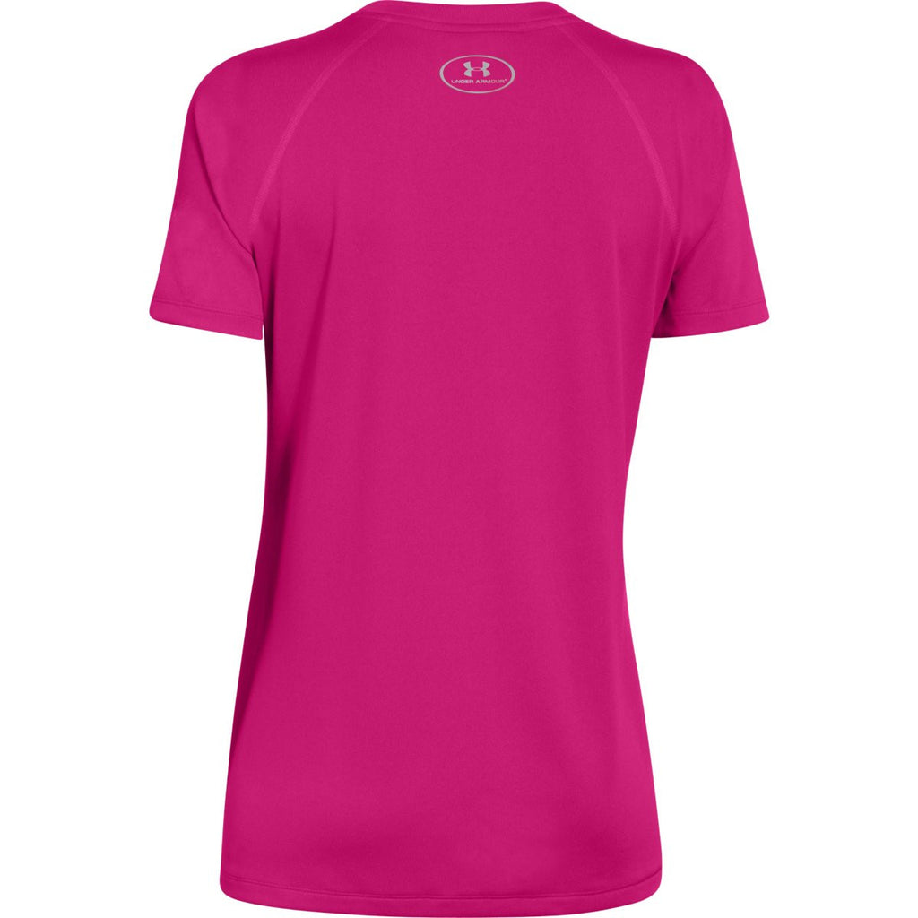 Under Armour Women's Tropic Pink S/S Locker Tee