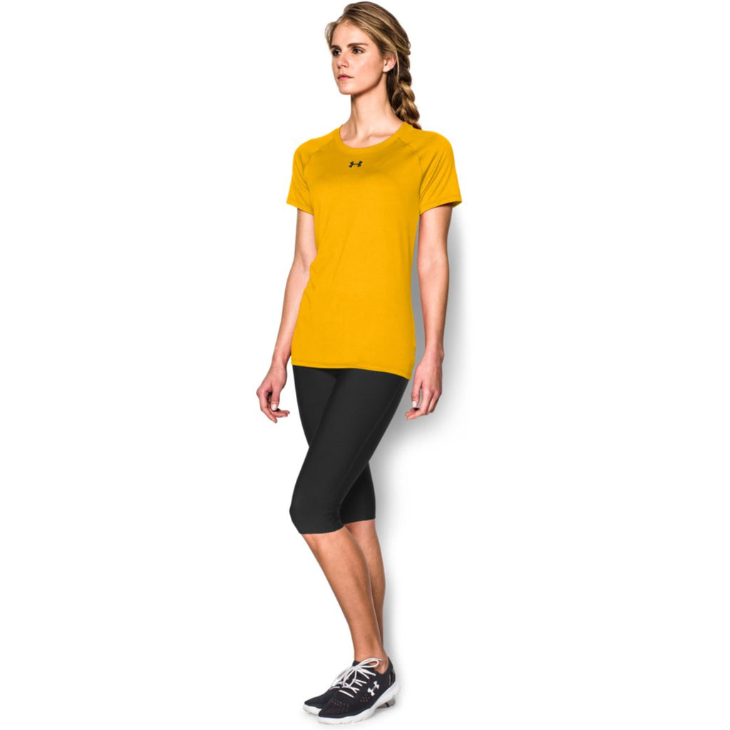 Under Armour Women's Steeltown Gold S/S Locker Tee
