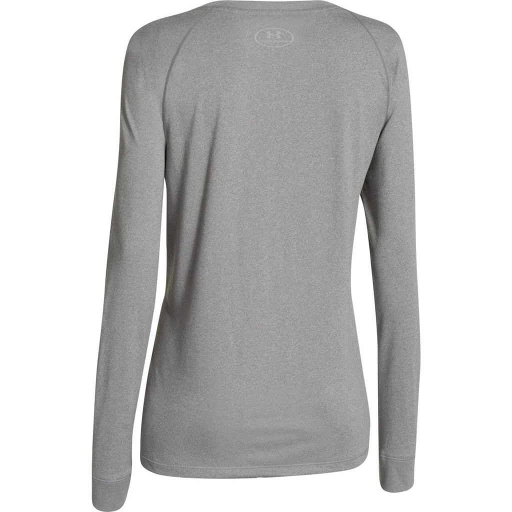 Under Armour Women's True Grey L/S Locker Tee