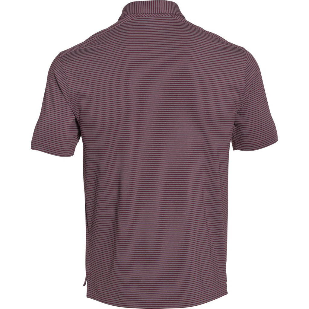 Under Armour Men's Maroon Clubhouse Polo