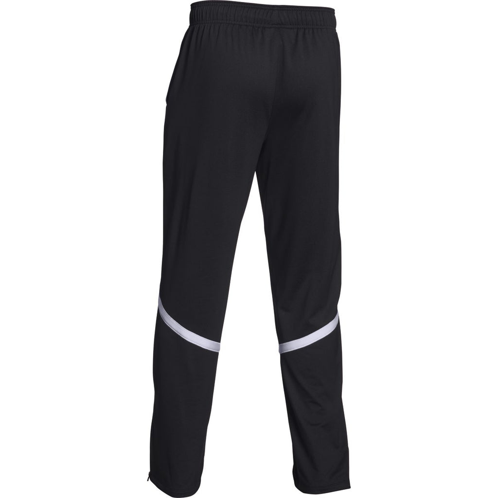 Under Armour Men's Black/White Qualifier Warm-Up Pant