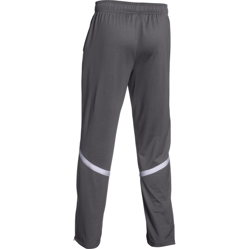Under Armour Men's Graphite/White Qualifier Warm-Up Pant