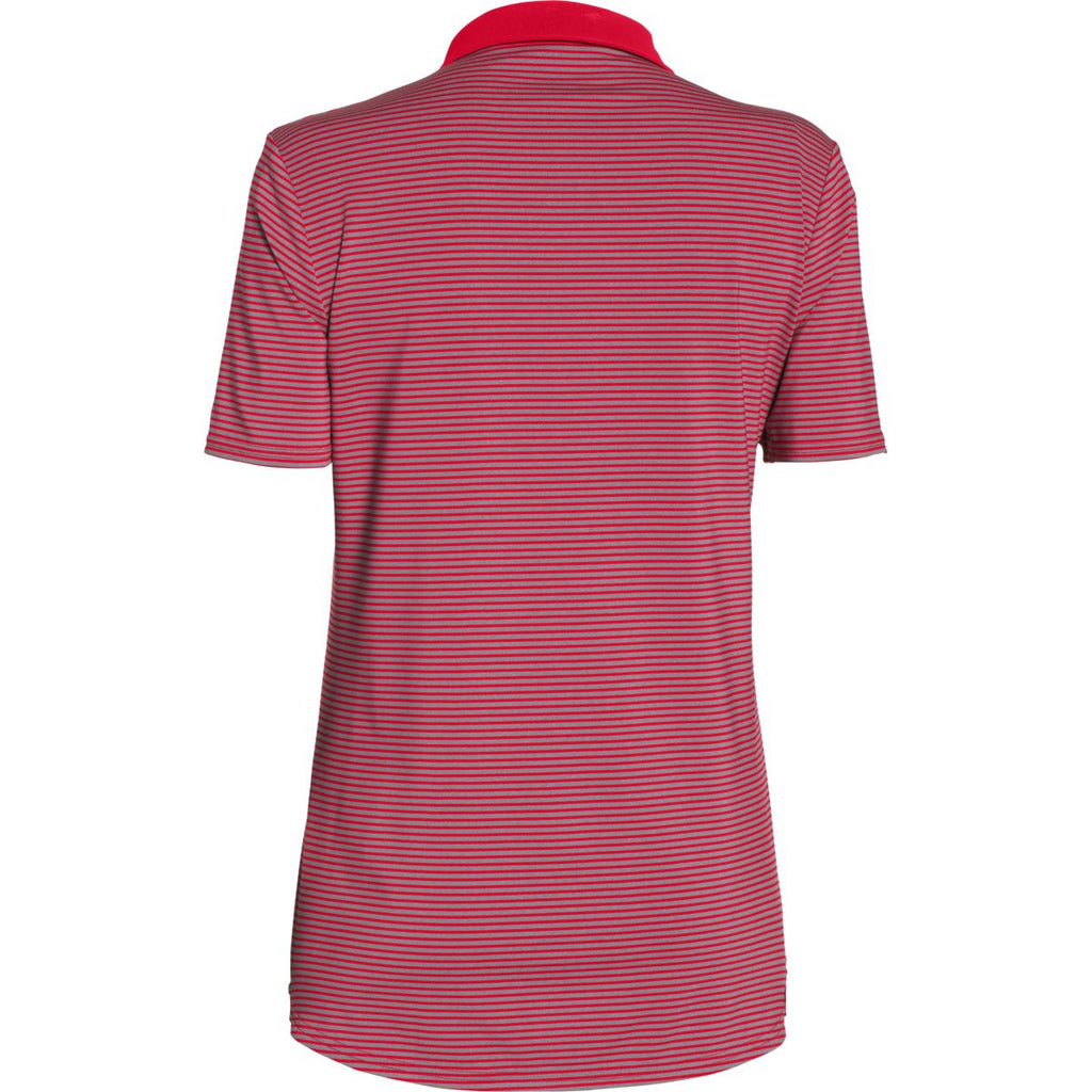 Under Armour Women's Red Clubhouse Polo
