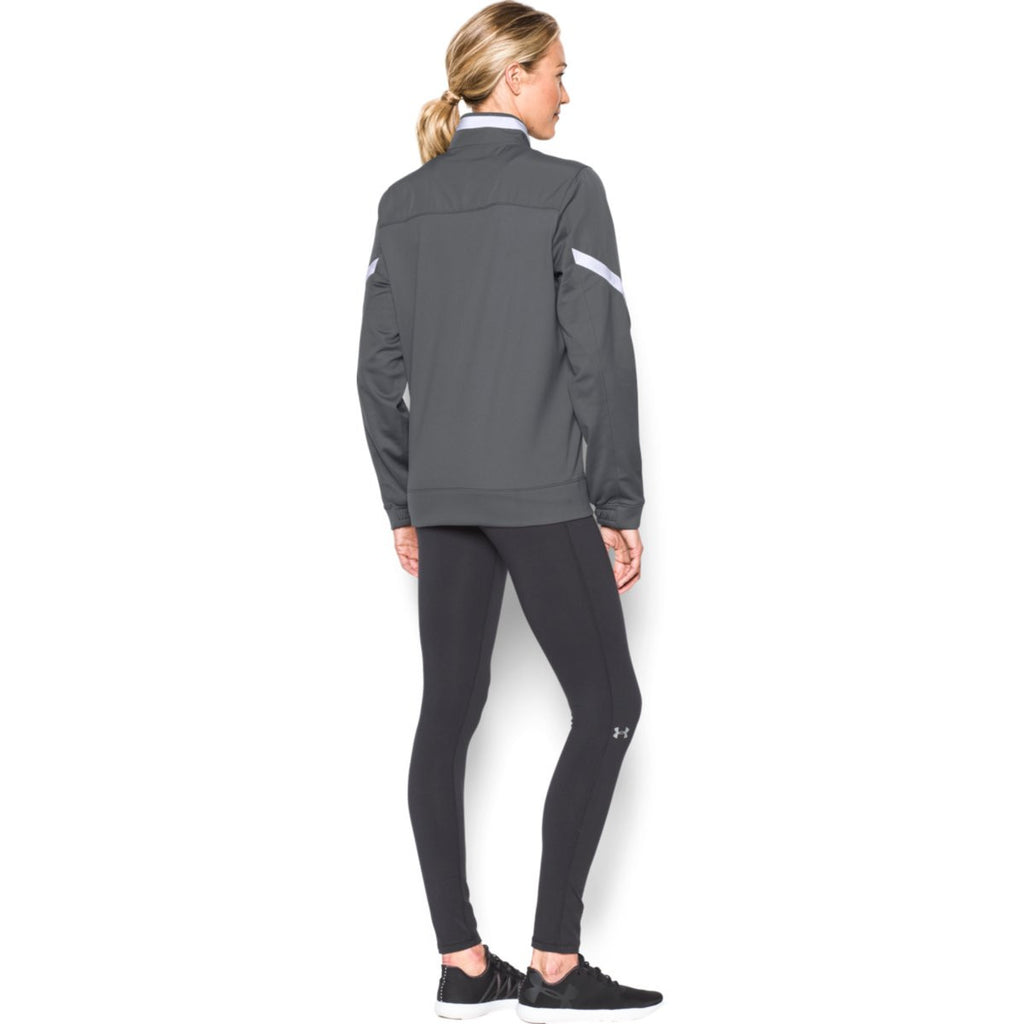 Under Armour Women's Graphite Qualifier Full Zip Jacket