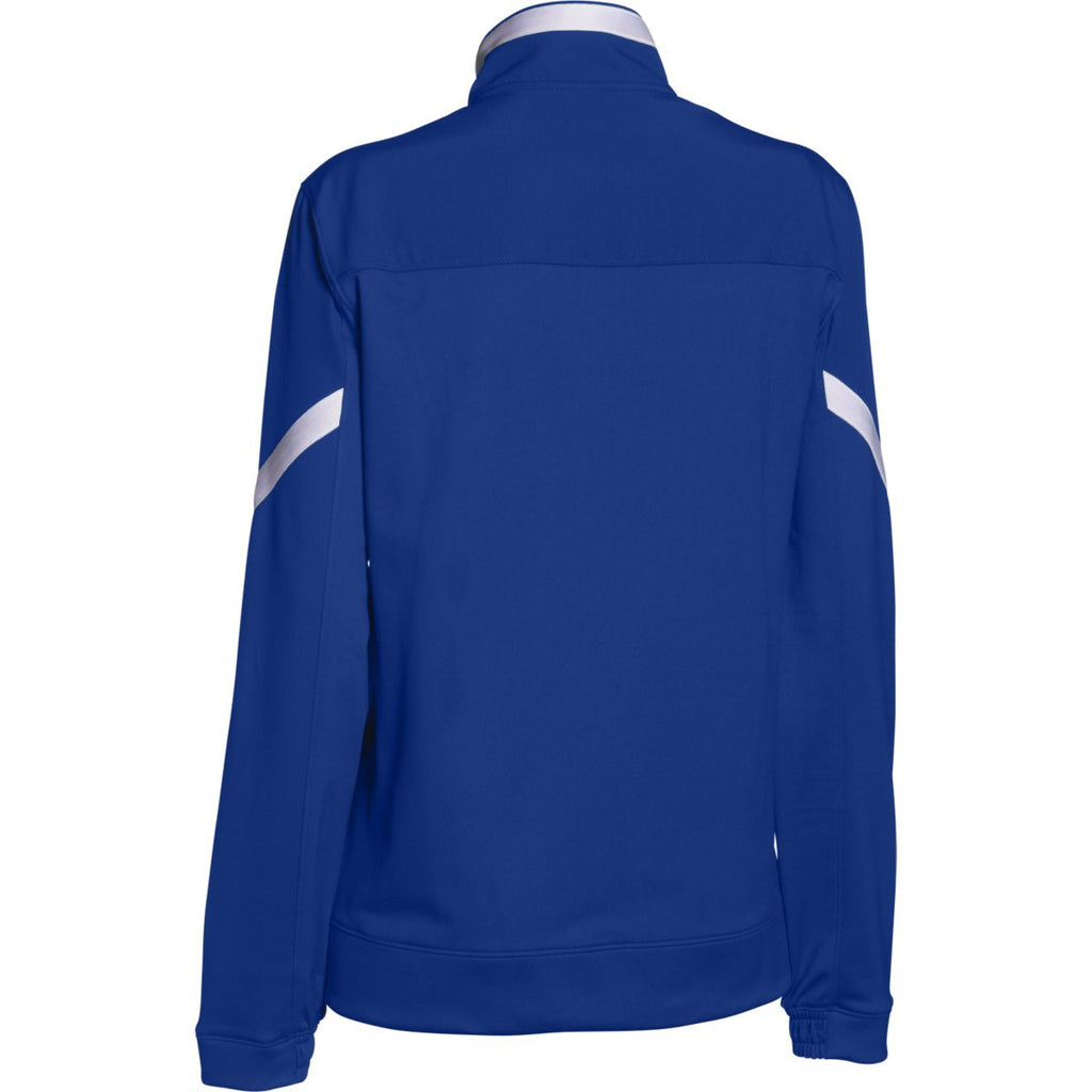 Under Armour Women's Royal Qualifier Full Zip Jacket