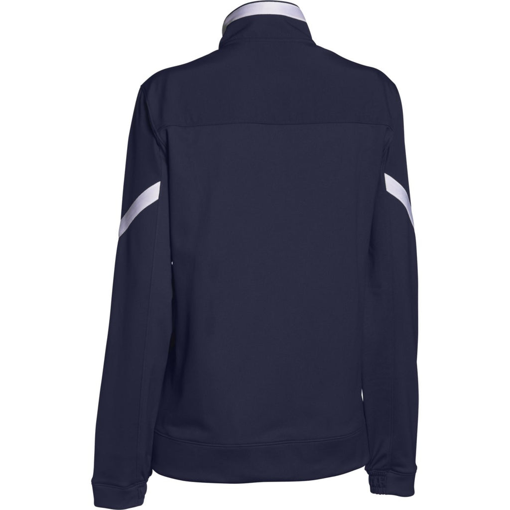 Under Armour Women's Midnight Navy Qualifier Full Zip Jacket
