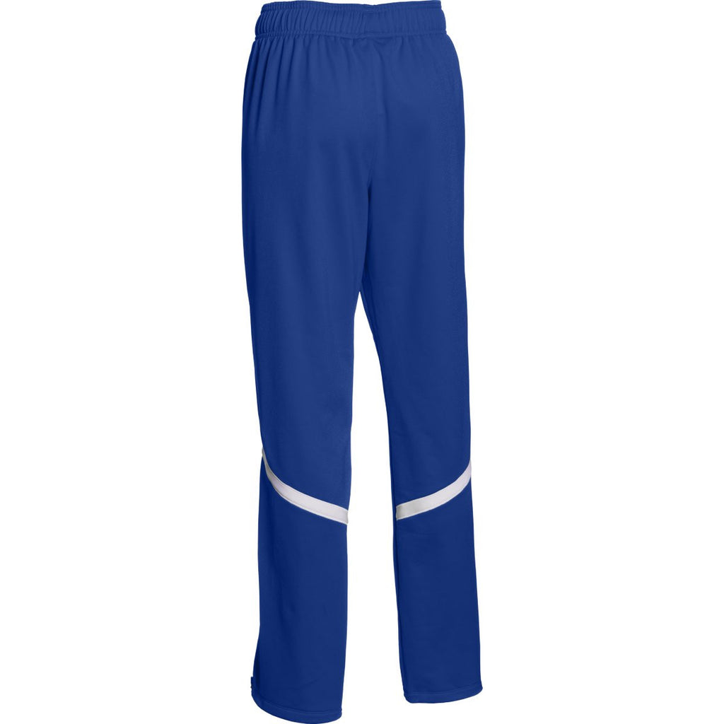 Under Armour Women's Royal/White Qualifier Warm-Up Pant