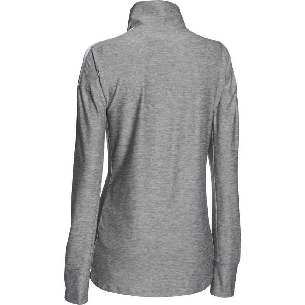 Under Armour Women's White Hotshot 1/2 Zip