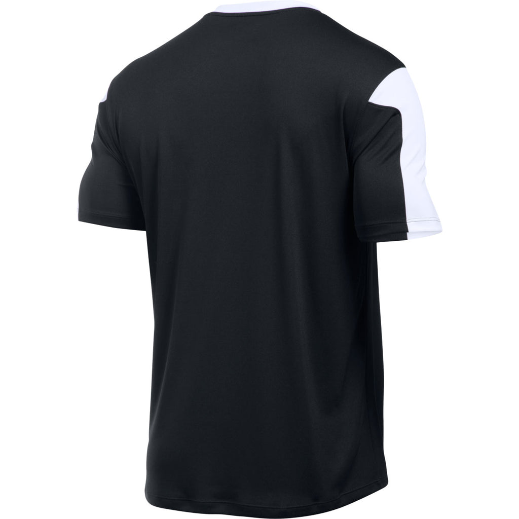 Under Armour Men's Black Maquina Jersey Short Sleeve