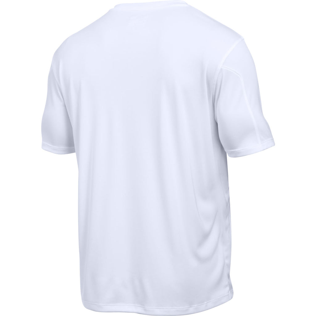 Under Armour Men's White Maquina Jersey Short Sleeve