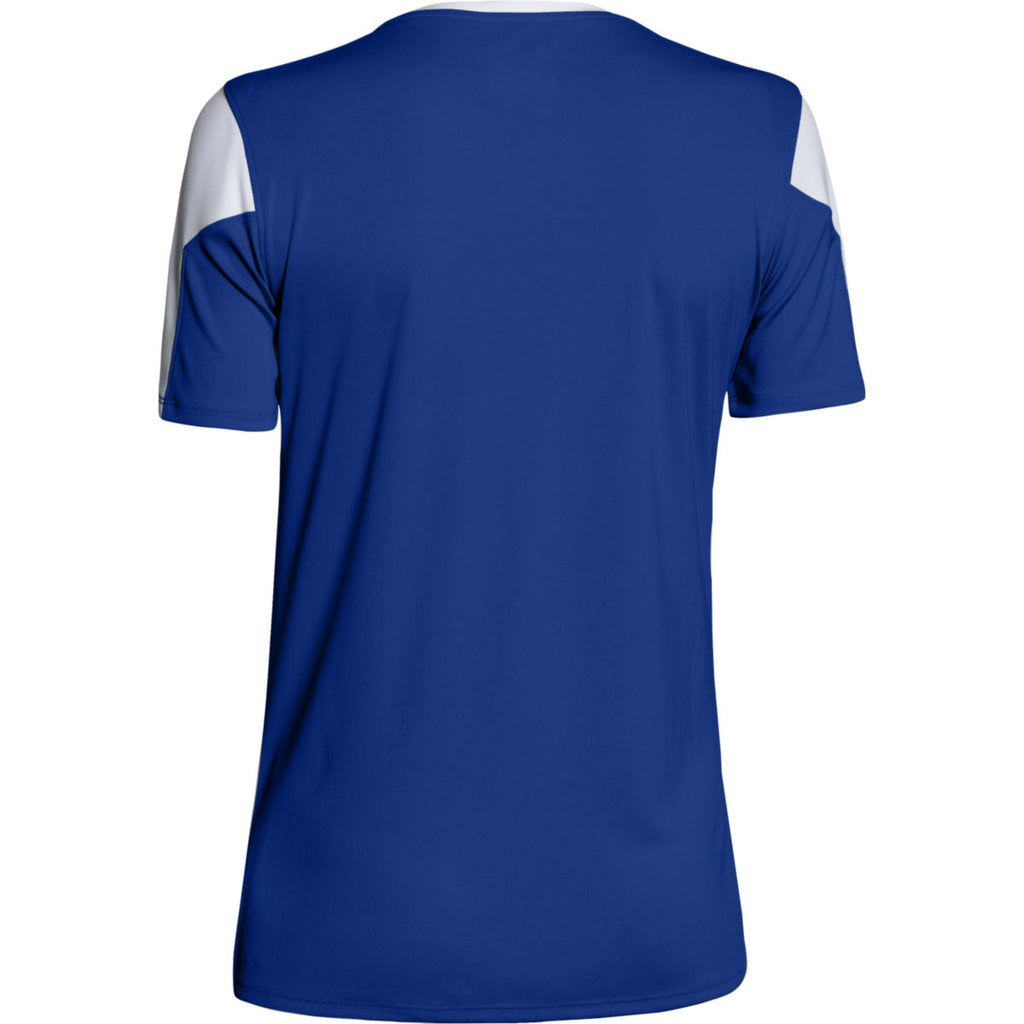 Under Armour Women's Royal Maqunia Jersey Short Sleeve