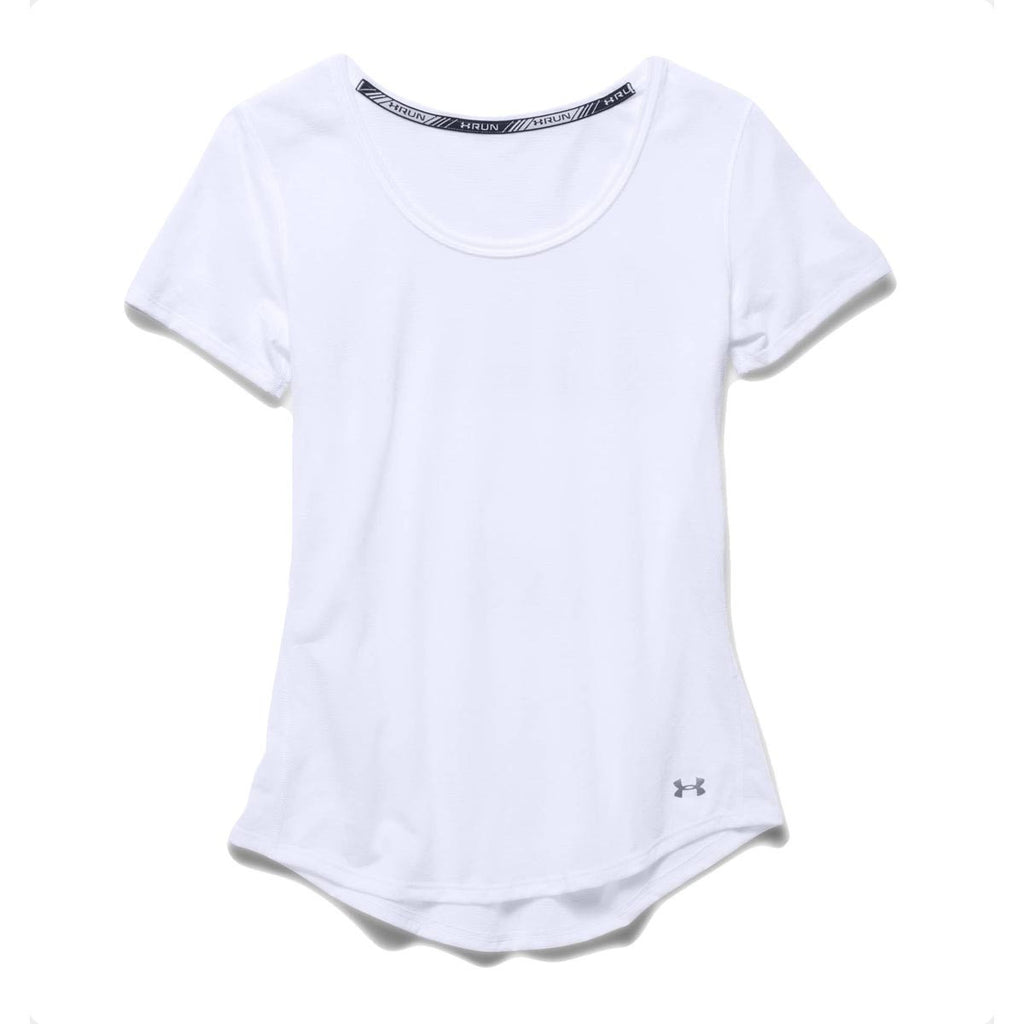 8b54b747 Under Armour Women's White UA Streaker Short Sleeve T-Shirt