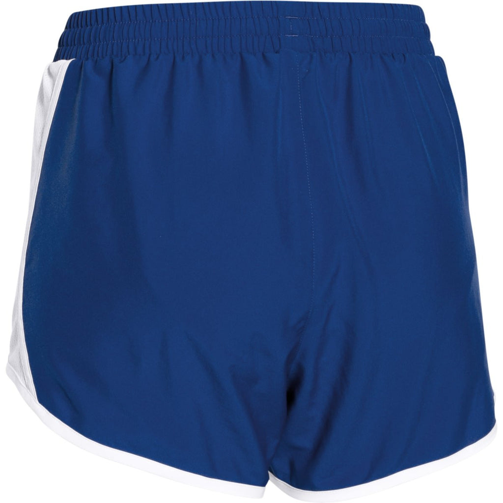 Under Armour Women's Royal/White/Reflective Fly By Short