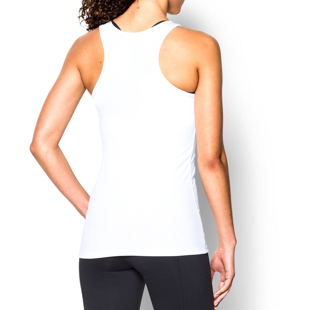 c4812a9b0c74a Under Armour Corporate Women s White Tech Victory Tank