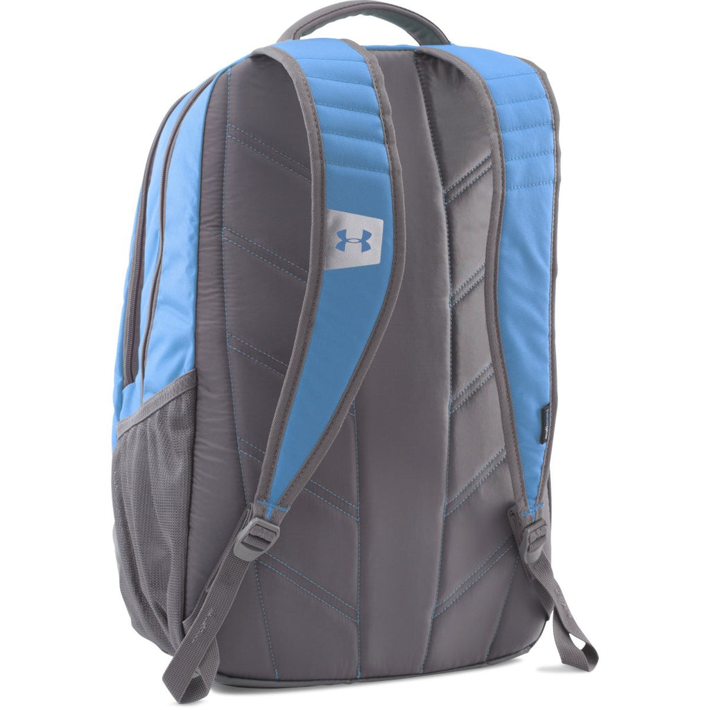 Under Armour Carolina Blue UA Team Hustle Backpack 6e825da85892a
