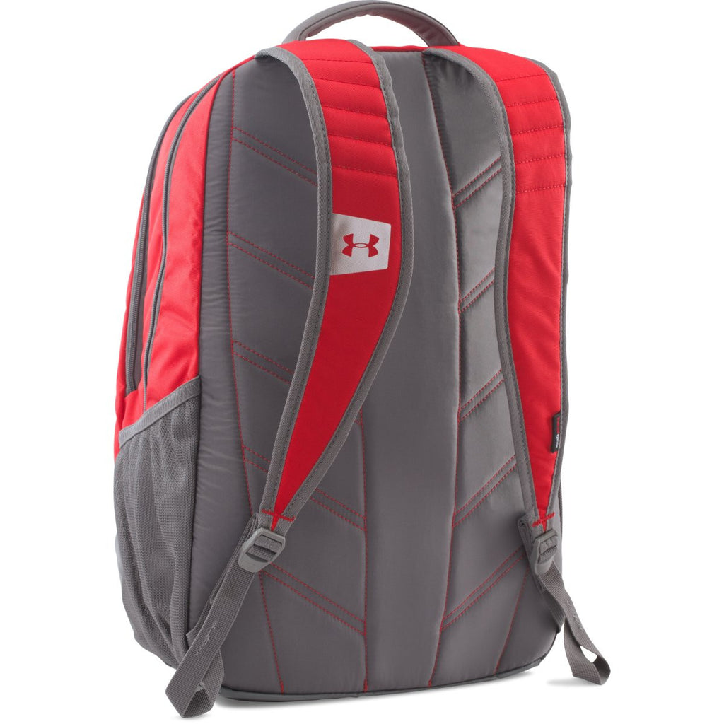 Under Armour Red UA Team Hustle Backpack