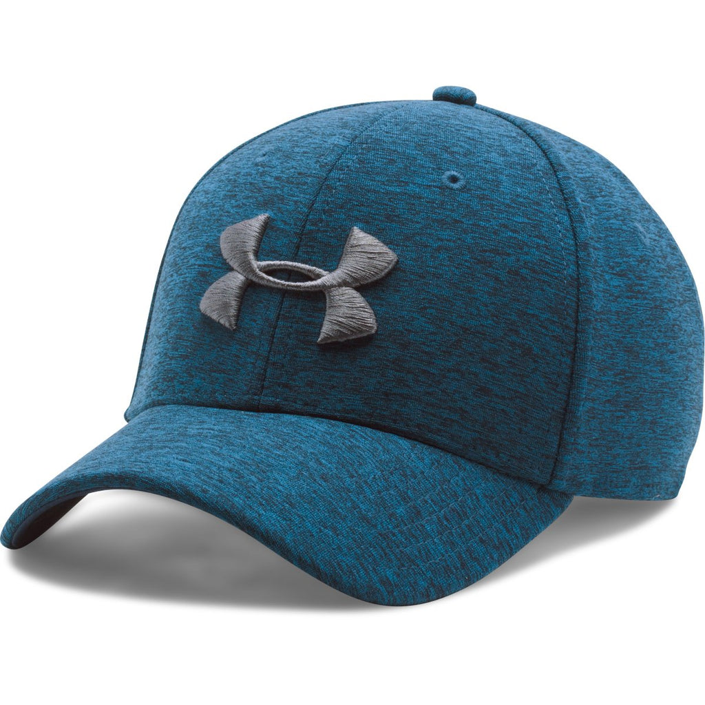 Under Armour Men s Midnight Navy Twist Tech Closer Cap. ADD YOUR LOGO efb93893ab4a