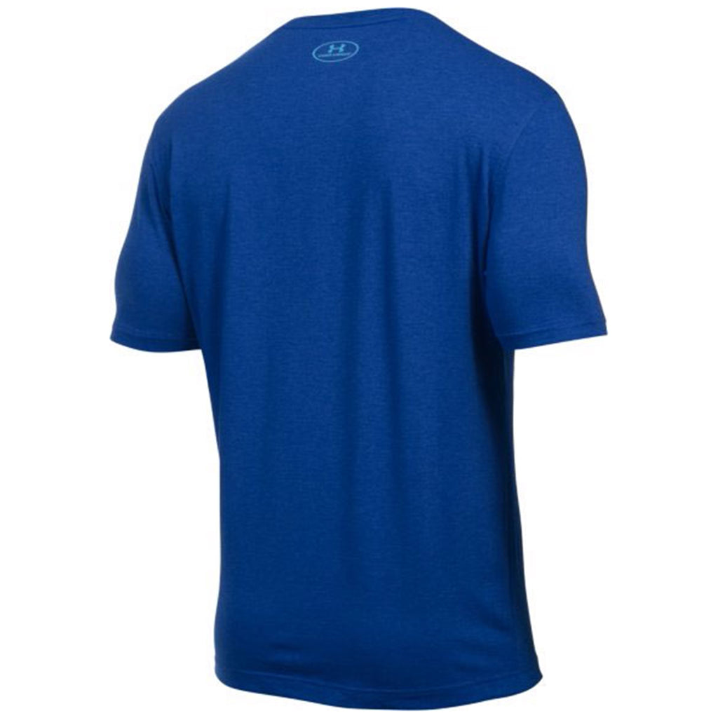 Under Armour Men's Royal Set in Crew Short Sleeve T-Shirt