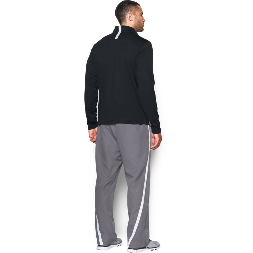 Under Armour Men's Black Qualifier Quarter Zip