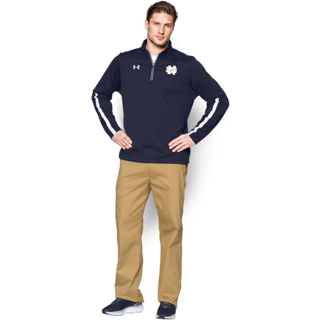 Under Armour Men's Midnight Navy Qualifier Quarter Zip