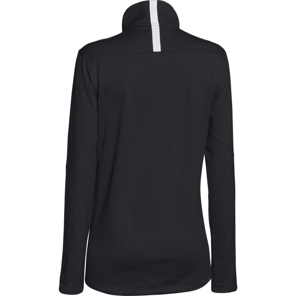Under Armour Women's Black Qualifier Quarter Zip