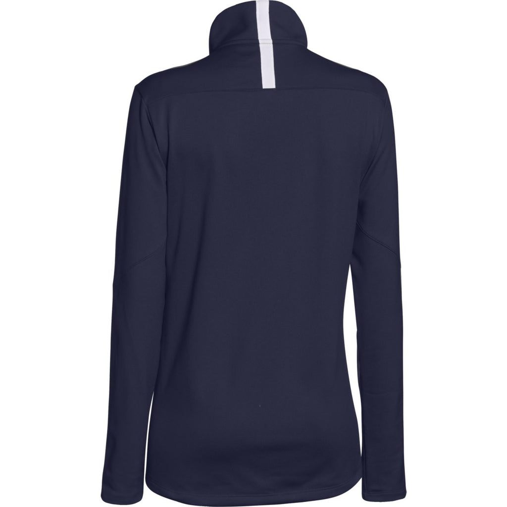 Under Armour Women's Midnight Navy Qualifier Quarter Zip