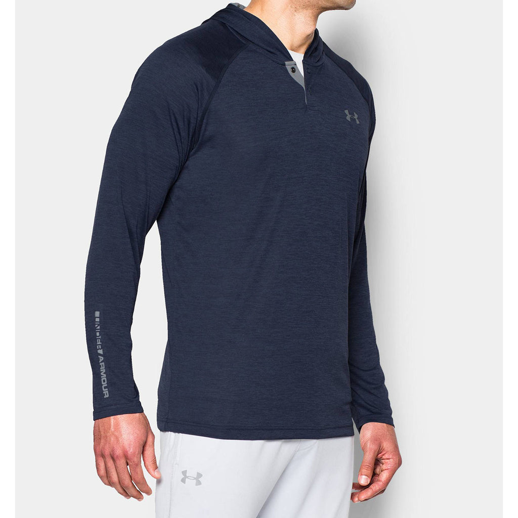 Under Armour Men's Midnight Navy UA Tech Popover Hoodie