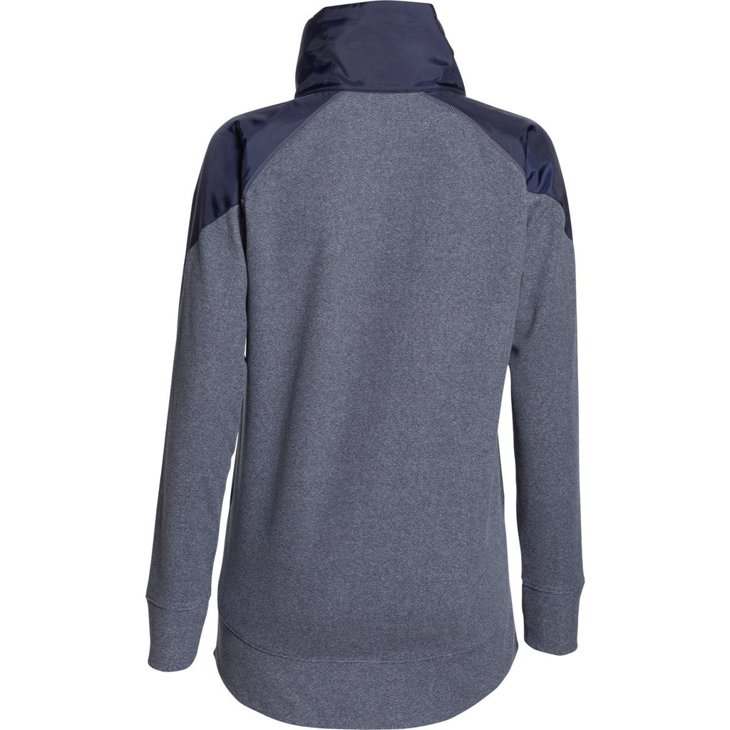 Under Armour Women's Midnight Navy UA Performance Fleece Full Zip Jacket