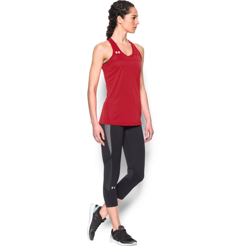 Under Armour Women's Red UA Matchup Tank