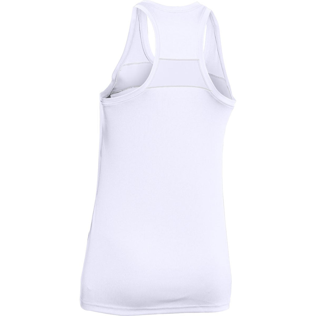 Under Armour Women's White UA Matchup Tank