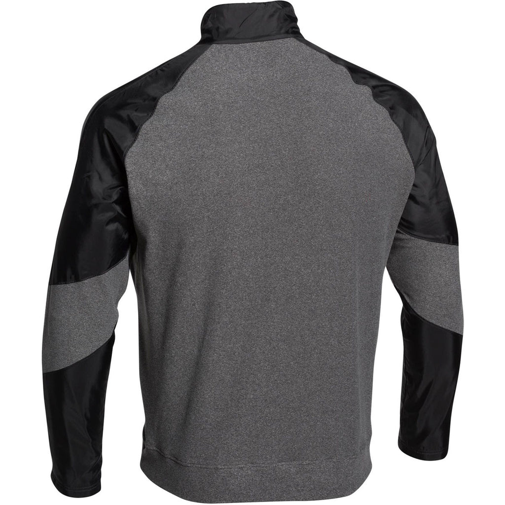 Under Armour Men's Black Performance Fleece 1/4 Zip