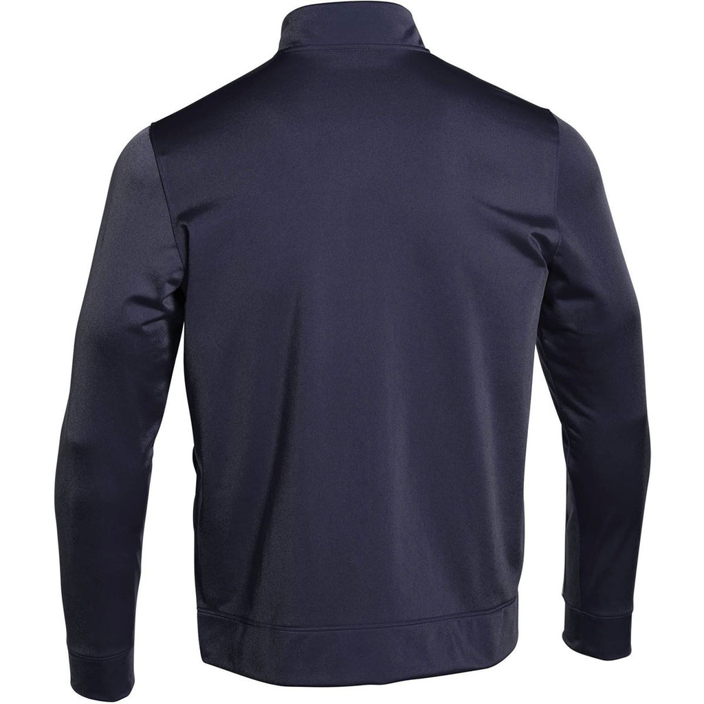 Under Armour Men's Midnight Navy Rival Knit Warm-Up Jacket