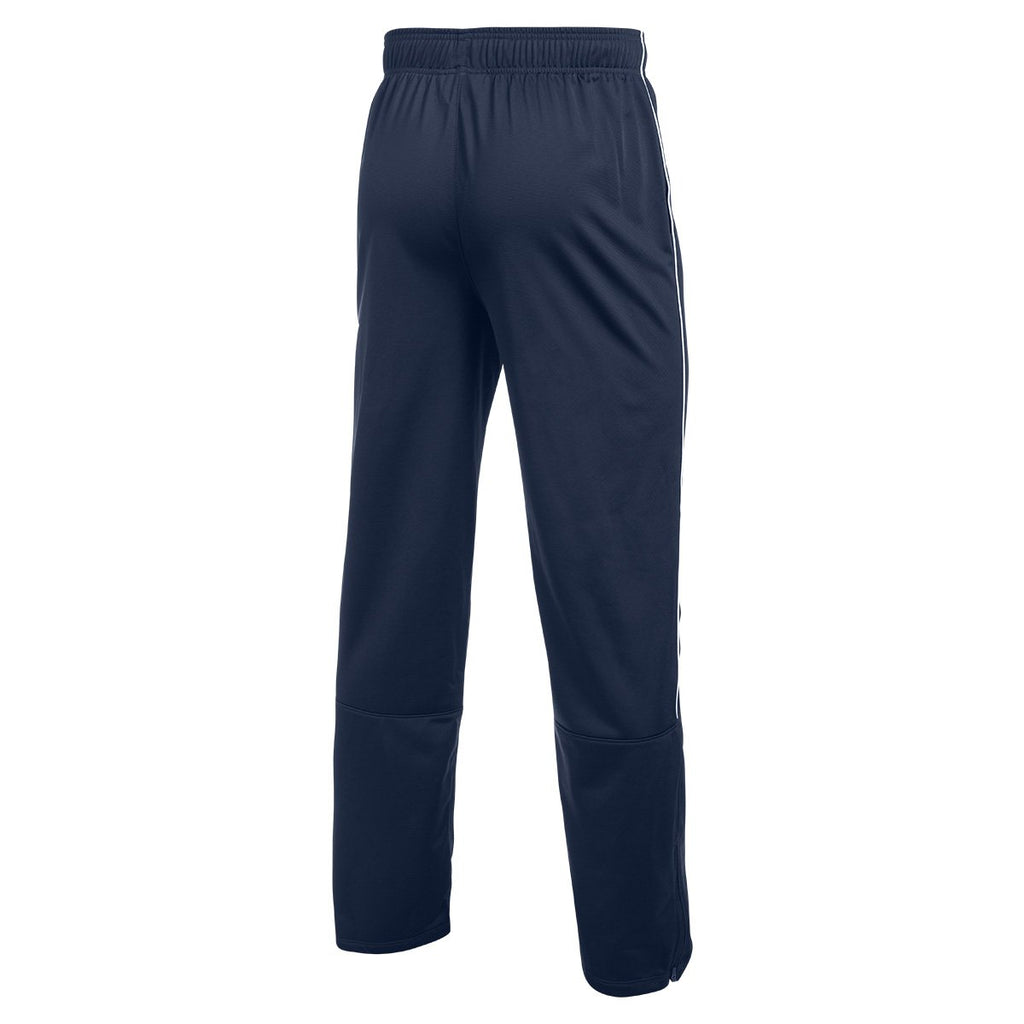 Under Armour Men's Midnight Navy/White Rival Knit Warm-Up Pant