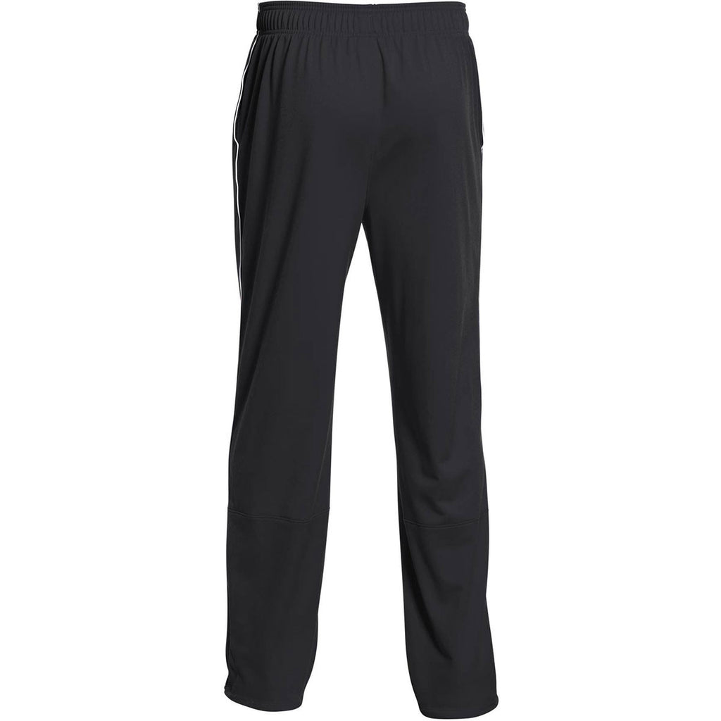 Under Armour Men's Black Rival Knit Warm-Up Pant